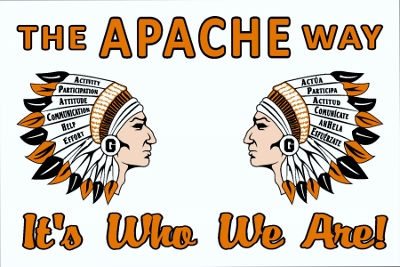 APACHE Way Magnet