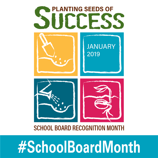 Thank you, school board!  School Boards: Planting Seeds of Success!