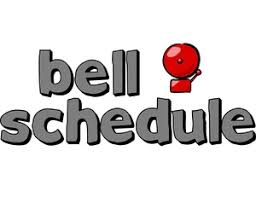 NEW BELL SCHEDULE FOR HIGH SCHOOL